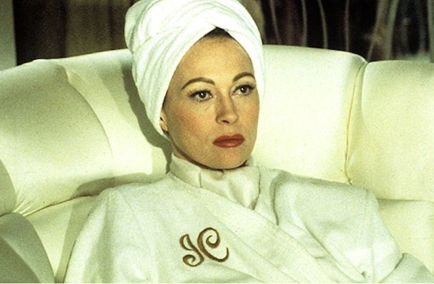 Faye Dunaway as Joan Crawford